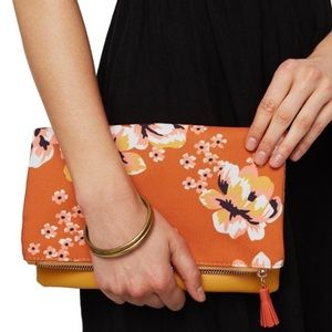 Rachel Pally Bloom Reversible Clutch Purse